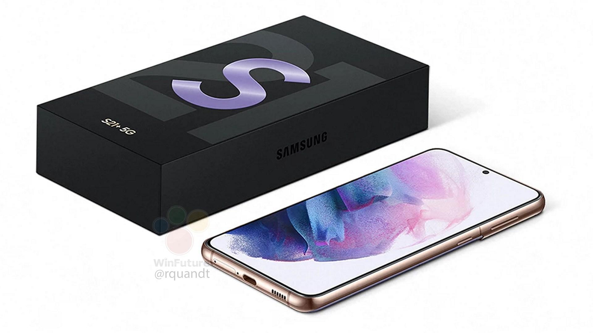 Samsung Galaxy S21 Retail Box