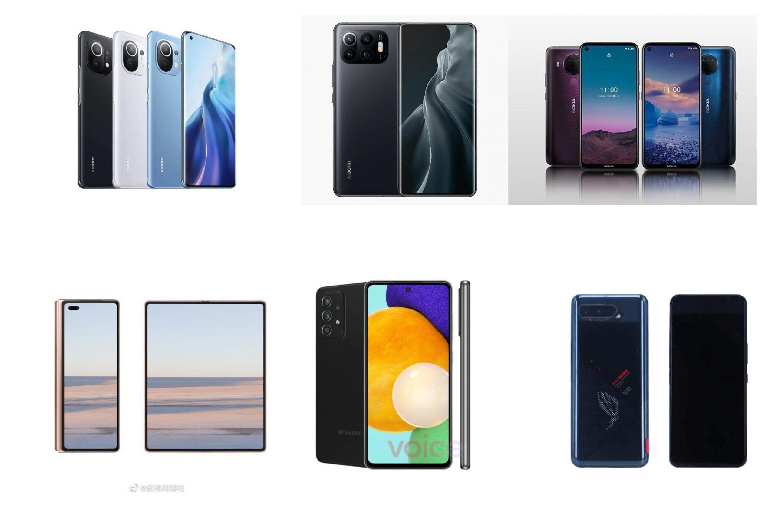 February 2021 phones