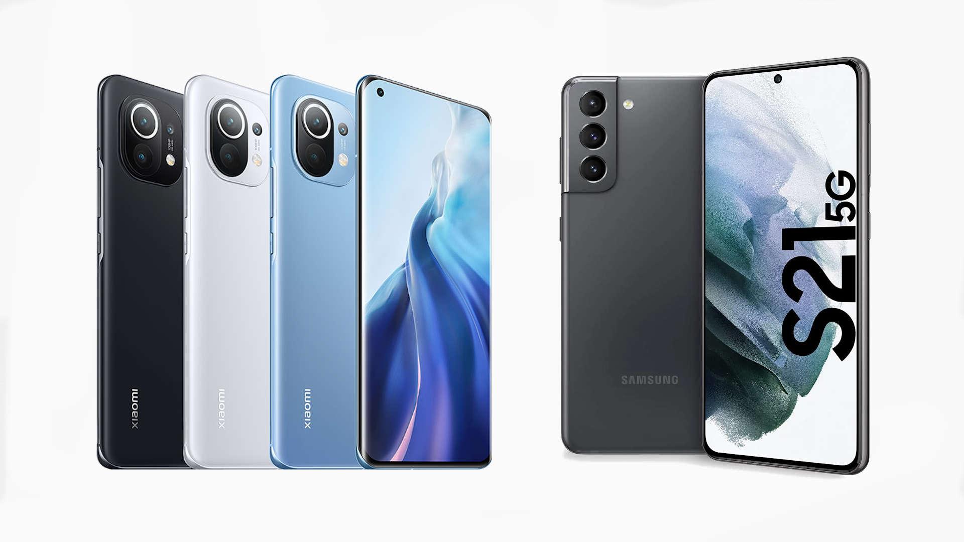 Xiaomi Mi 11 vs Samsung Galaxy S21