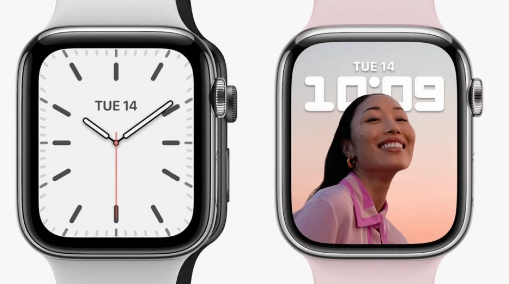 Pantalla del Apple Watch Series 7